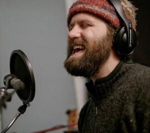 travis recording singin